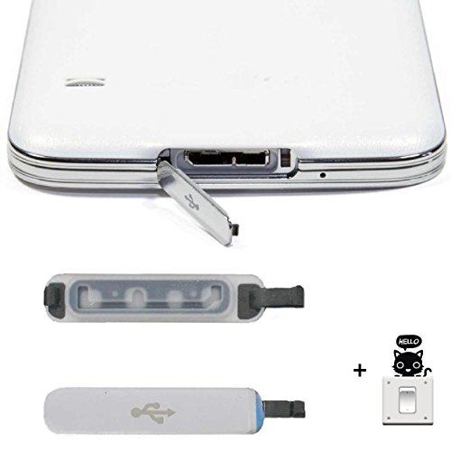 Malloom®1 pcs PARA Samsung Galaxy S5 Usb cargador de puerto cubierta de...