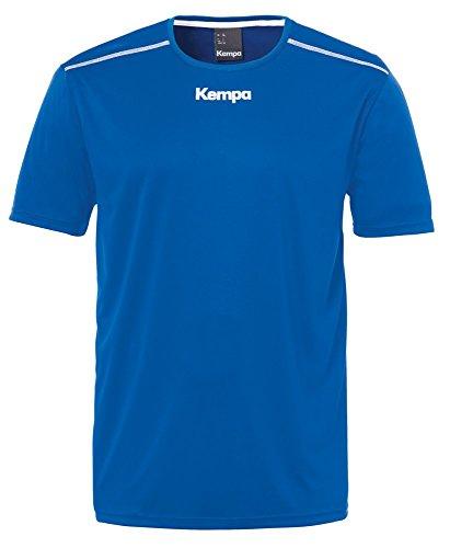 Kempa Handball Polyester Shirt kurzarm Training Top Herren dunkelblau Größe M