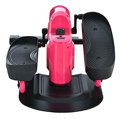 418j2QkrqXL - Lcyy-step Stepper Trainers Home Mini Walking Stepping Machine with Adjustable Resistance and LCD Display Pink