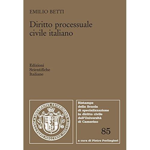 Diritto Processuale Civile Italiano