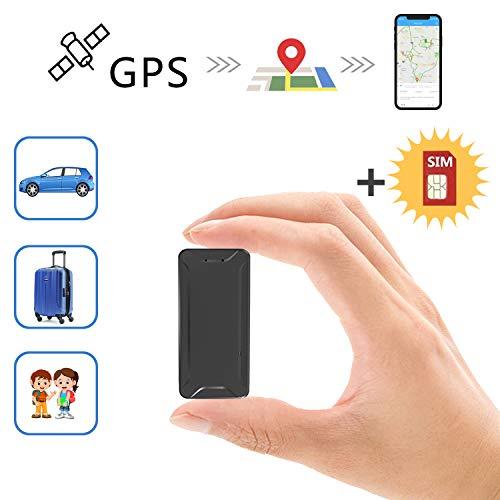 Mini Localizador GPS, Toptellite Real Antirrobo GPS Localizador para Vehículos/niños con Seguimiento...
