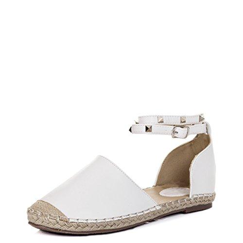 Spylovebuy ARABELL Damen Flache Sandalen Schuhe Pumps
