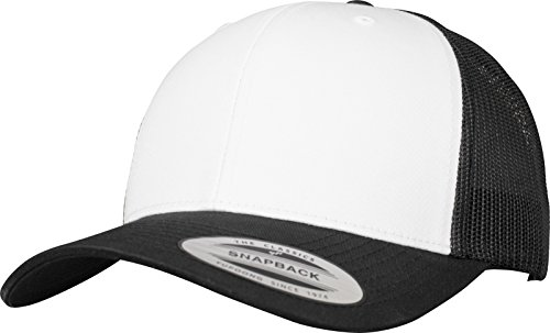 Flexfit (FLEYK) (FLF5T) Flexfit Retro Trucker Colored Front Kappe blk/Wht One Size