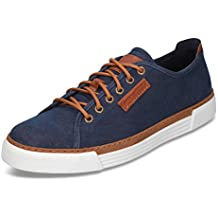 Camel Active Racket 460.15-03 Herren Sneaker aus Canvasmaterial mit Textilsohle, Groesse 13, marine