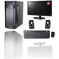 'PC Desktop Intel i5–7400Quad Core 3,5GHz Windows 10Professional 64bit Case ATX/RAM DDR48GB/HD 1TB/WiFi/HDMI DVI VGA Power 500W + Monitor LG 22LED VGA Teclado y Ratón USB Altavoces Audio completo