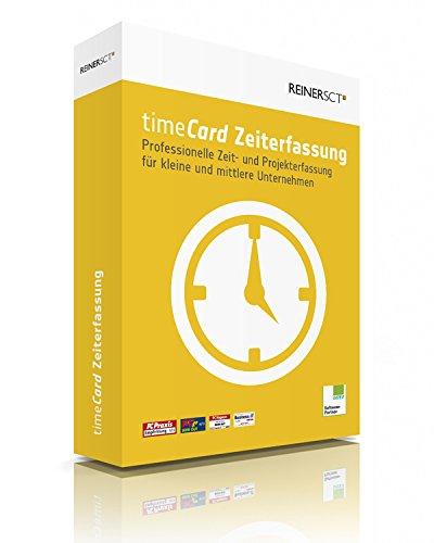 ReinerSCT timeCard Zeiterfassung für 5 Mitarbeiter