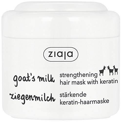 Ziaja leche de cabra-acondicionado Nutritivo máscara de pelo con queratina 200ml