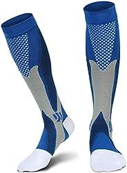 1 Pair Compression Socks For Men Athletic Football Socks