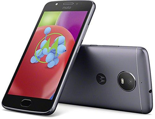 Motorola Moto E4 Smartphone (12,7 cm (5 Zoll), 2 GB RAM/16 GB, Android) iron grau [Exklusiv bei Amazon]