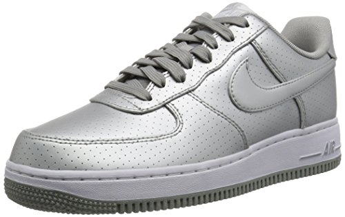 Lv8 Force Nike 07 Air Herren 1 Sneakers Silber x77SIwP