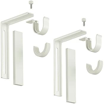 Ikea Home Indoor Wallceiling Bracket White Amazonfr