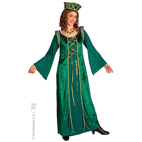 Ladies Lady Eleonora Green Dress Costume Large UK 14 to 16 for Victorian Dickens Poppins Fancy (Dickens Kostüme Ideen)
