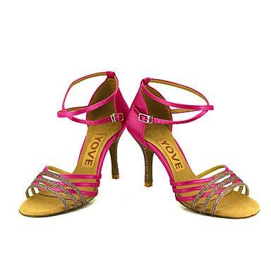 XIAMUO Anpassbare Frauen Beruf Tanz Schuhe Bronze