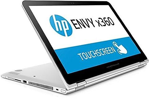 HP Envy x360 (15-aq003ng) 39,6 cm (15,6 Zoll/ Full-HD IPS Touch-Bildschirm) Convertible Notebook (2in1 Laptop und Tablet in einem, Intel Core i7-6560U, 1TB HDD, 8GB RAM, Windows 10)