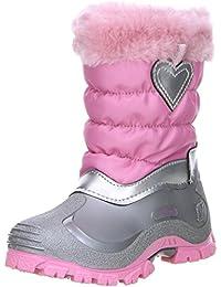 Spirale Kinder Mädchen Winterstiefel Snowboots rosa