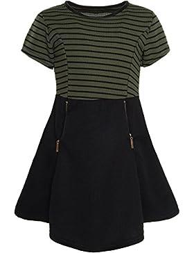 BEZLIT Mädchen Kinder Freizeit Abend Kleid Peticoat Festkleid Kurz Arm Kostüm 21065