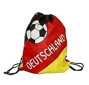 HAAC Fan Tasche Matchbeutel 35x42cm in Deutschlandsfarben Deutschland Fußball EM 2016