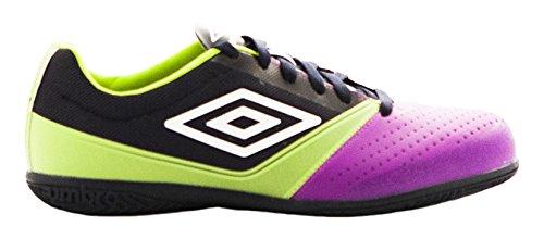 Umbro Umbro Aura–Chaussures montantes pour hommes Dark Navy / Blanco / Morado Cactus / Lime Green