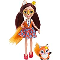 Enchantimals Felicity Fox Muñeca,, 15 cm (Mattel Spain DVH89)