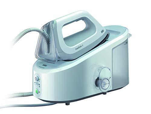Braun Carestyle 3 IS3041/1WH - Centro de planchado, ajuste de temperatura automática, 2.400 w, 120...