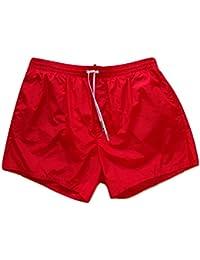 Dsquared Costume da Bagno Magico Boxer Corto Uomo D7B641310.400 Rosso ef1c1350e12f