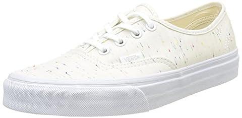 Vans Damen Ua Authentic Sneakers, Elfenbein (Speckle Jersey Cream/True White), 41 EU