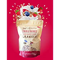 Just Live A Little Triple Berry Granola 400 g (Pack of 6)