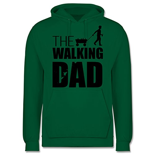 Vatertag - The Walking Dad - Vatertag - Männer Premium Kapuzenpullover / Hoodie Grün