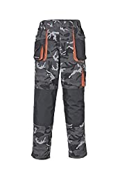 Terratrend Job 3230-46-6210Größe 46Herren's-trousers-Camouflage/grau/schwarz