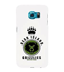 EPICCASE Bear island Grizzlies Mobile Back Case Cover For Samsung Galaxy S6 Edge Plus (Designer Case)