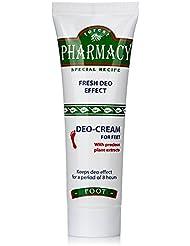 Forest Pharmacy Crème Déodorant pour Pieds Désodorisée conserve l'effet pendant 8 heures