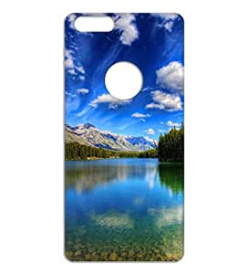 Happoz peaceful nature Huawei Honor P8 Lite 2017 accessories Mobile Phone Back Panel Printed Fancy Pouches Accessories Z312