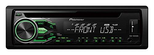Pioneer DEH-1800UBBG Autoradio Noir