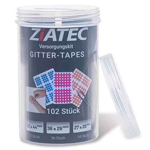 Ziatec Kintex Cross Tapes Box mit 102 oder 204 Pflaster Tape Schutzdose, Größe:Universalgröße, Farbe:Mix… - 2