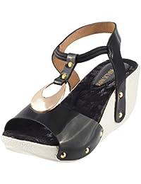 Walkway Women Synthetic Sandals (33-7)