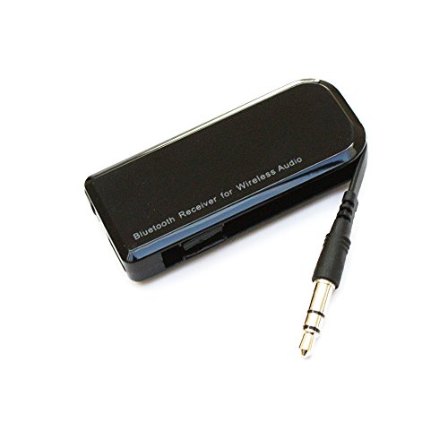 Layen Bluetooth Empfänger 4.1 Tragbarer drahtloser Musik-Empfänger Audio-Adapter für Home HiFi Docking Station Auto-Lautsprechersystem und Handy mit Stereo 3,5 mm Aux. Für Bose Phillips Sony Yamaha Bowers & Wilkins Apple etc.
