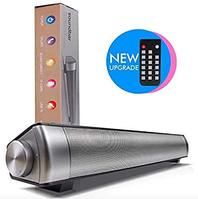 SOUNDBAR BY EpicSound | SOUND BARS FOR TV | SOUNDBARS FOR TV | TV SOUND BARS | TV SOUND BAR | SOUND BAR FOR TV | Wireless and Wired Connectivity | Professional Grade Sound | from EpicSound