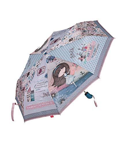 Paraguas Anekke Plegable automático Azul