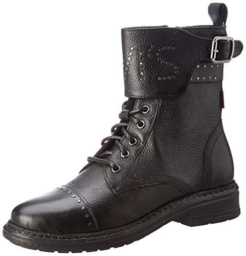 Levi's Damen SLY Studs Biker Boots, Schwarz 59, 40 EU