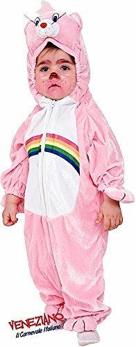 Fancy Me Italienische Herstellung Kleinkind Mädchen pink Rainbow Bär Cartoon Kostüm Kleid Outfit 12-36 Monate - Rosa, 1 - Kleinkind Rainbow Kostüm