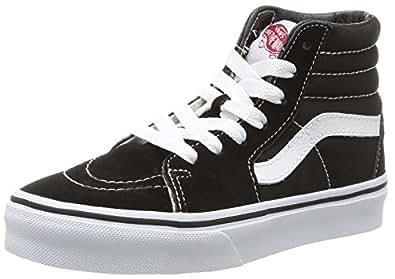 Vans k sk8 hi unisex kids 39 hi top sneakers for Vans amazon