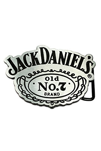 Jack Daniel's, Old No.7 Buckle [Light Silver] inkl. Gürtel -