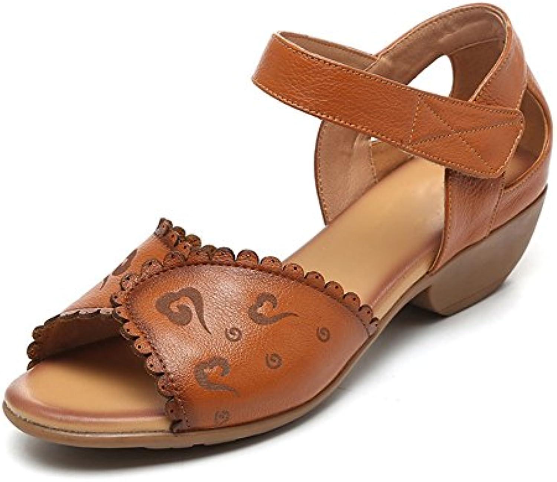 HUAIHAIZ Tacones de mujer Los zapatos de tacón altomoda mujer zapatos Zapatos noche,38, beige -