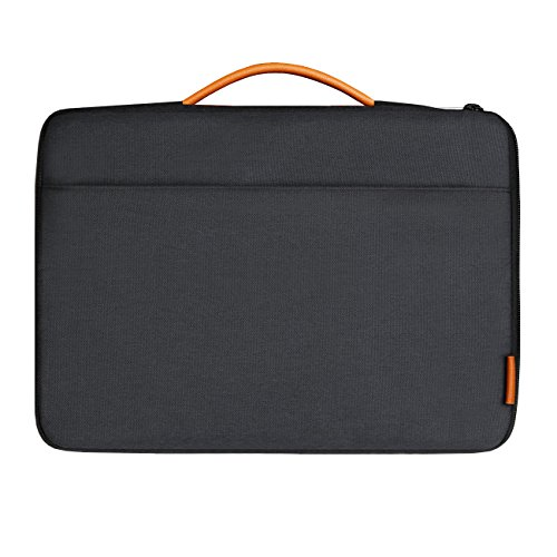 Inateck 13-13,3 Pulgadas Sleeve Funda para portátiles para MacBook Pro Retina, MacBook Air, 13' MacBook Pro 2016/2017/2018, Surface Pro1/2/3/4/5/6, Surface Pro 2017,Surface Latop 2017. Negro