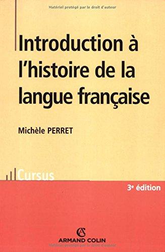 Introduction à l'histoire de la langue française