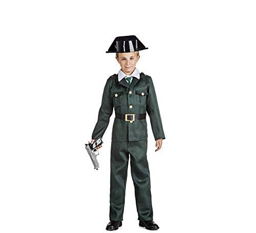 Imagen de disfraz guardia civil talla 5 6 años tamaño infantil
