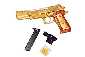 Gifts Online Handheld Gun - BB Gun Toy - Heavy and Solid - Accurate - HOT GOLDEN COLOR