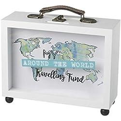 Mi diseño de marco de fondo caja de dinero, blanco