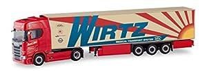 Herpa 310420 Scania Wirtz - Funda térmica para Camiones en Miniatura para Manualidades y coleccionar