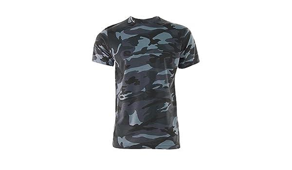 Game Herren Midnight Camouflage Milit/är Armee Jagd Angeln T Shirt